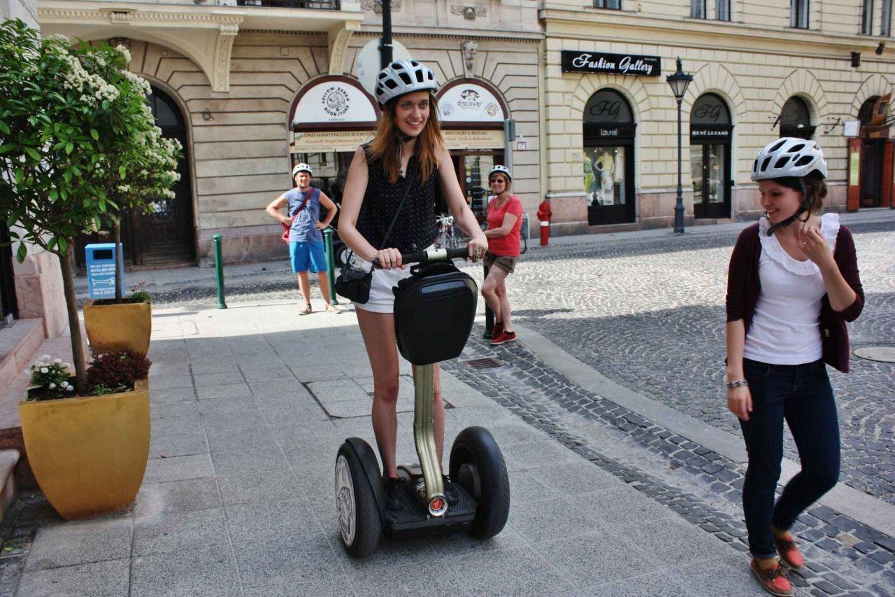 "Budapeşte ""Büyük"" Şehir Segway Turu"