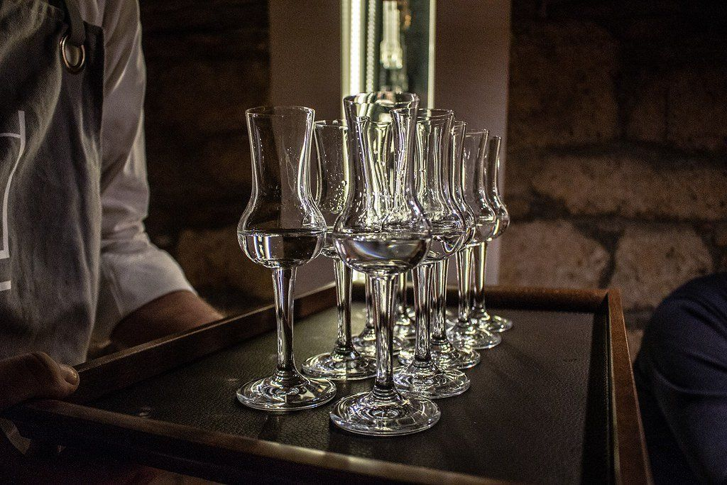 Palinka Experience with Sightseeing Cruise