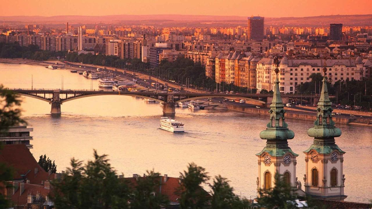 Sunset Air Cruise by Helicopter over Budapest
