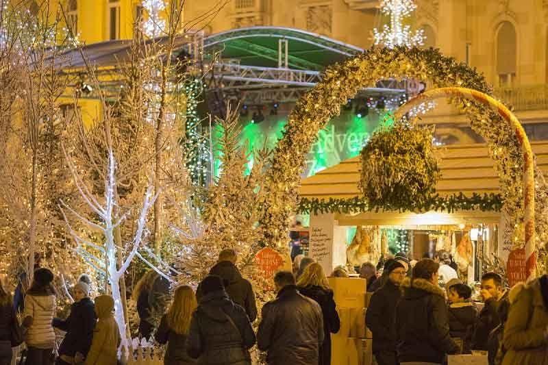 Belgrade Christmas Market Visit