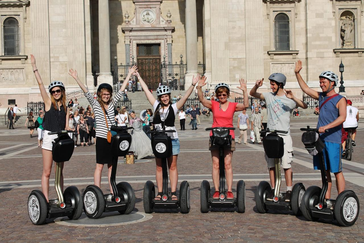City Centre Segway Tour and Széchenyi Spa Cabin Ticket