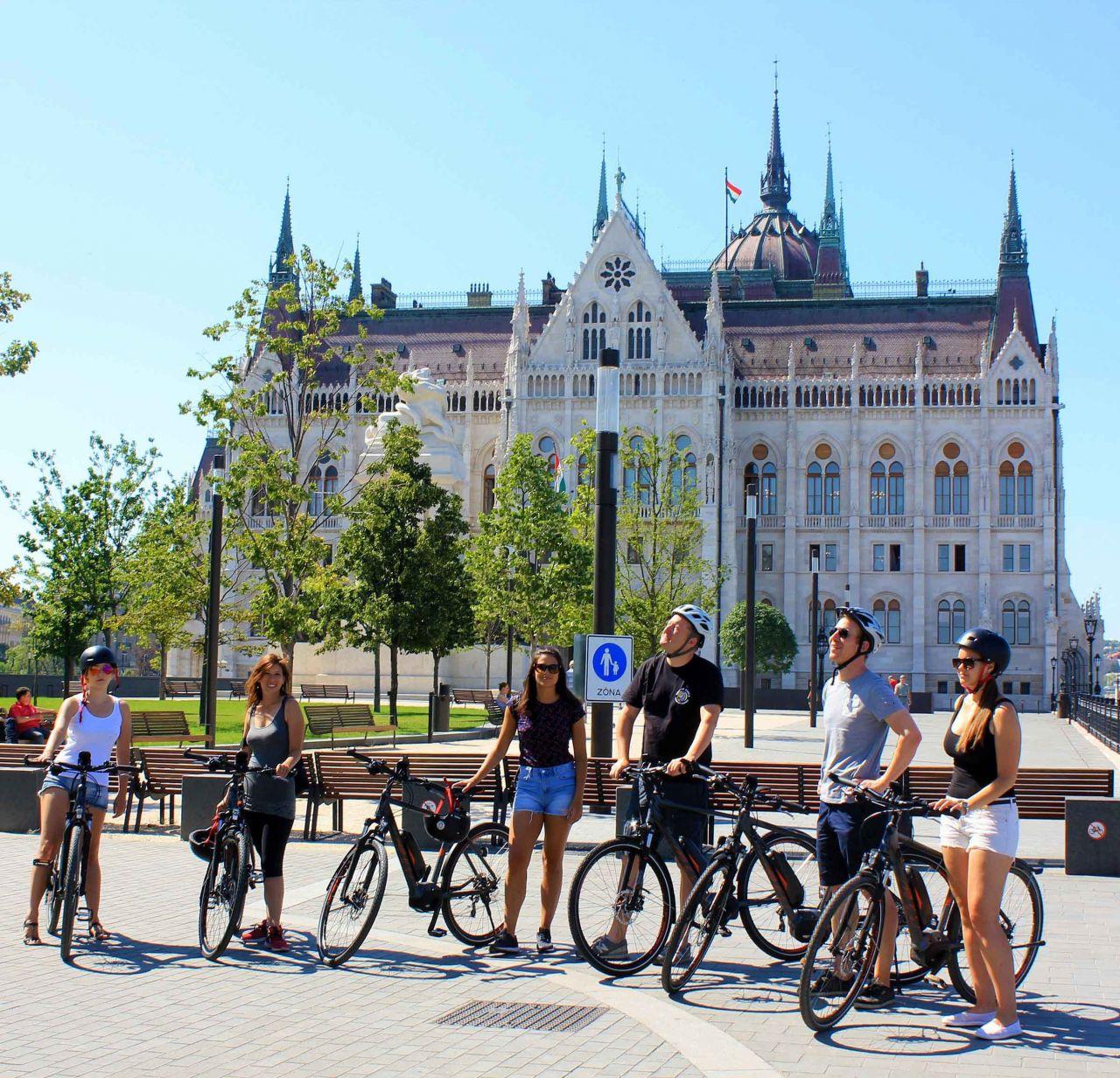 E-bicikli Túra Budapesten